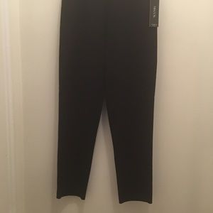 Misook Knit Straight Leg Pull on Pants